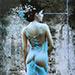 Blue Wet Girl